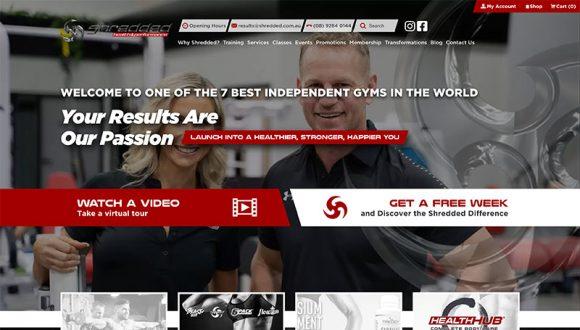 Shredded Health and Performance full website